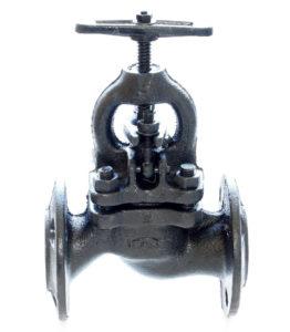 Клапан запорный чугунный 15кч16п1